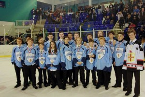 Bradford Bulldogs EIHA Conference players 2016